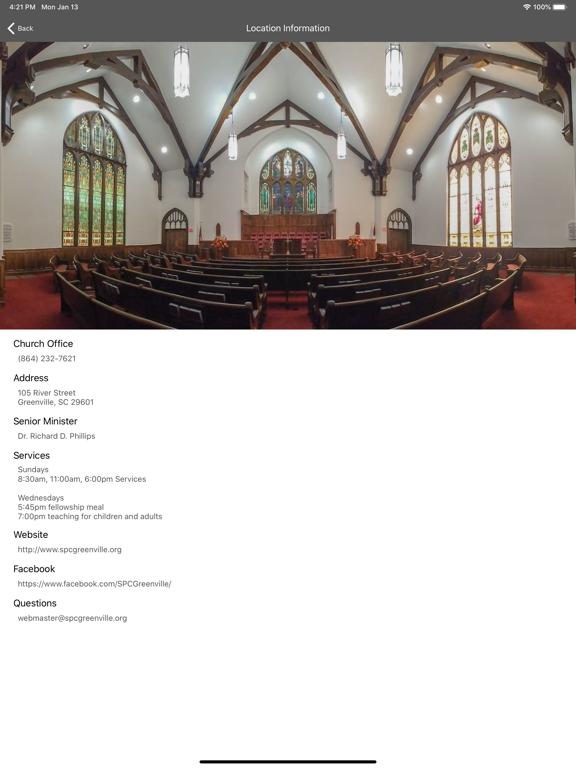 Second Presbyterian Greenville screenshot 6