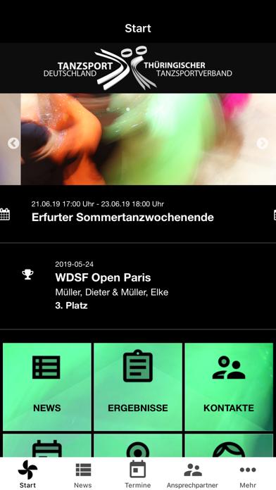 Thüringischer TanzsportverbandScreenshot von 2