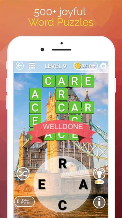 Word Travel :Crossword Puzzle