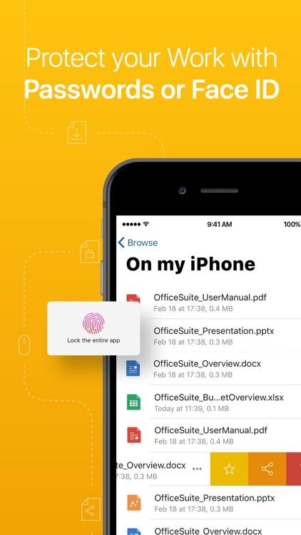 OfficeSuite & PDF editor screenshot-9