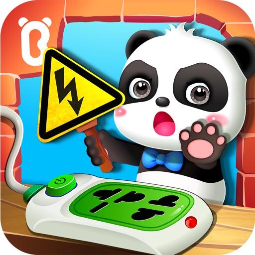 Малыш панда безопасность в дом