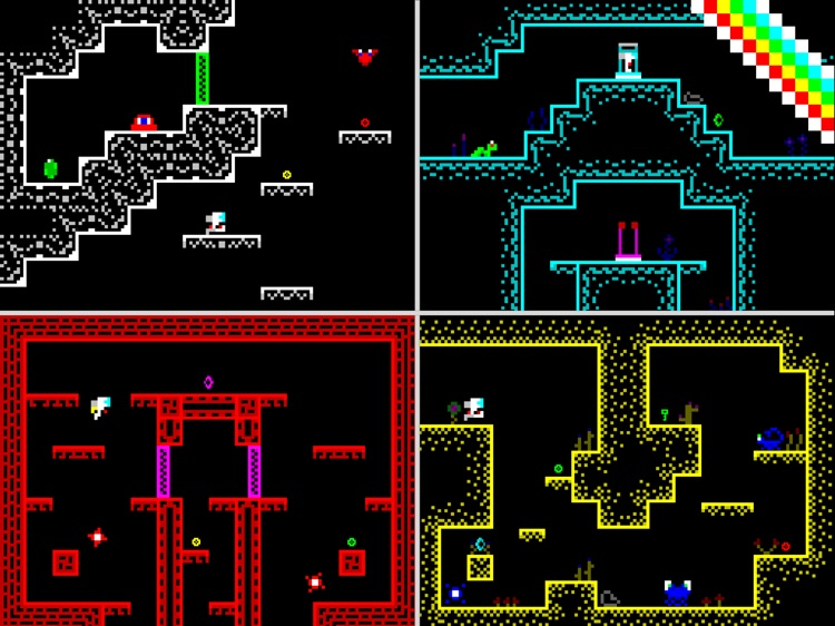 8 Bit Space - Retro Platformer screenshot-3