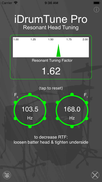 Drum Tuner - iDrumTune Pro Screenshots