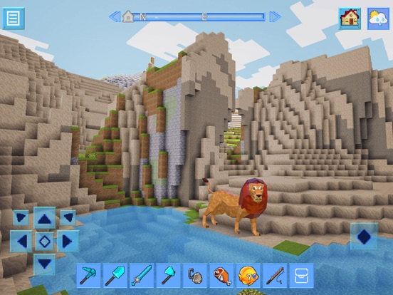 RealmCraft 3D: Survive & Craft by Tellurion Mobile (iOS