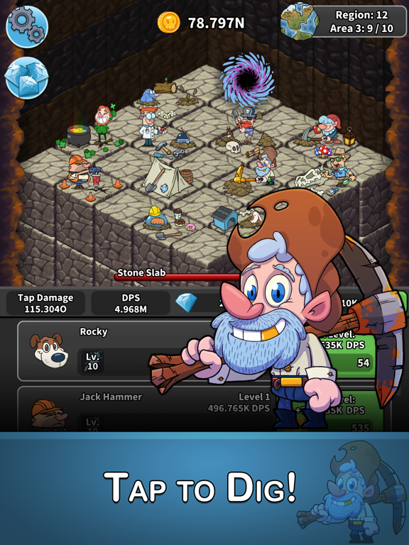 Tap Tap Dig - Idle Clicker