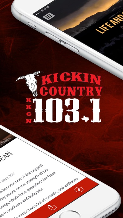 Kickin' Country, KKCN 103.1 screenshot two