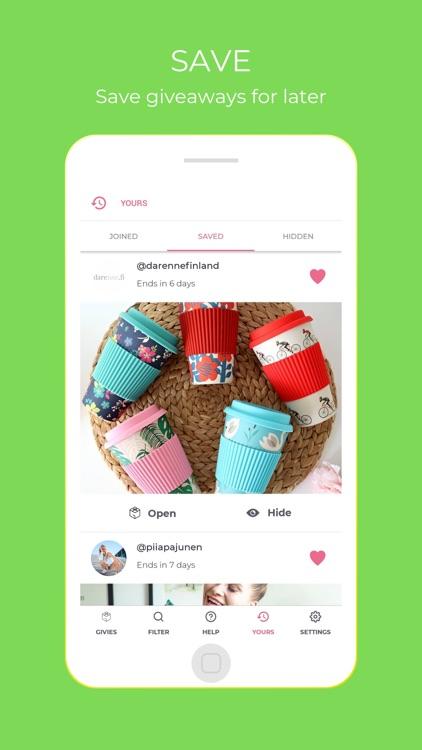 Giveaway App screenshot-6