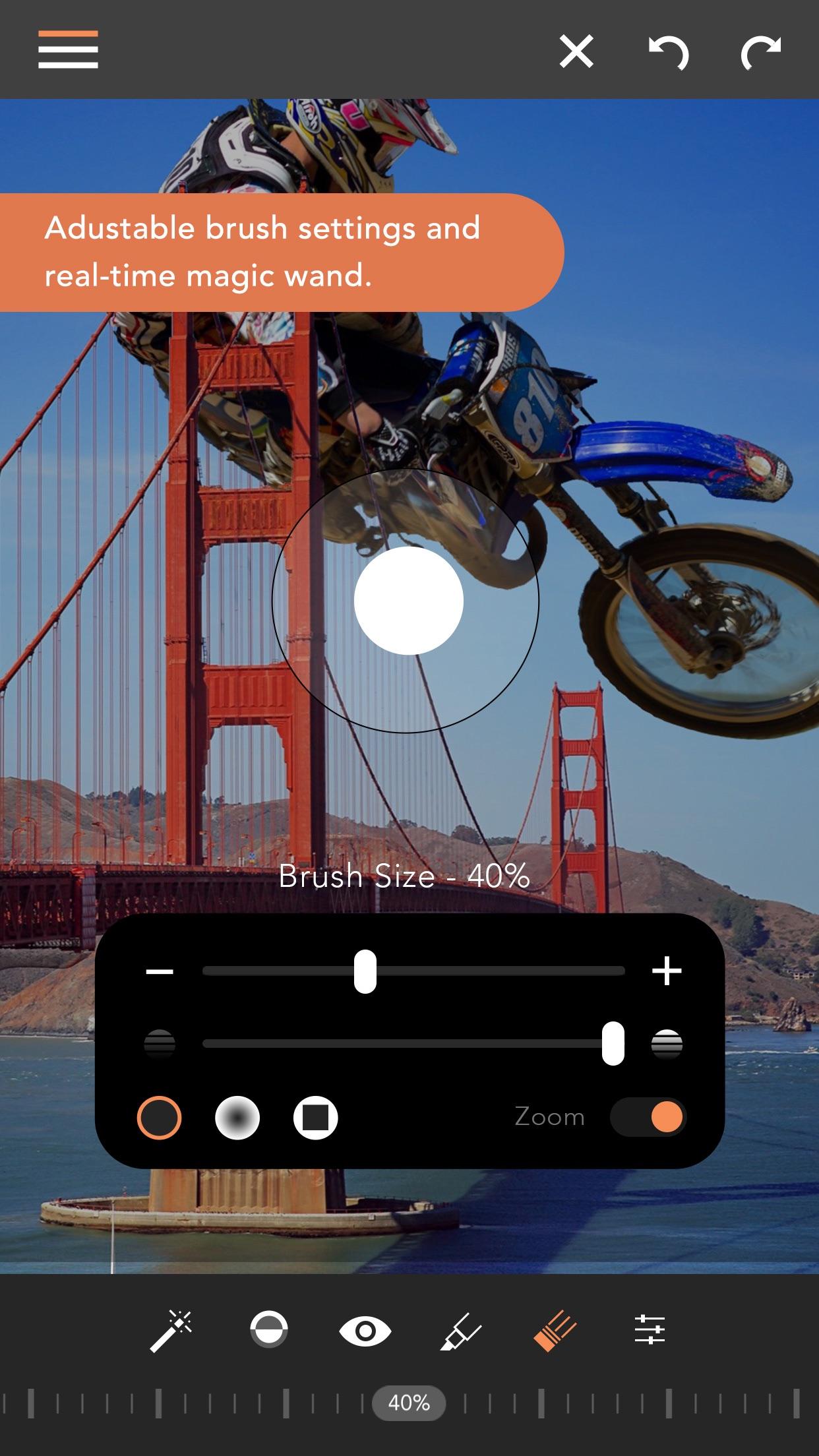 Screenshot do app Union - Combine & Edit Photos