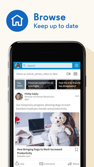 LinkedIn: Network & Job Search Screenshot