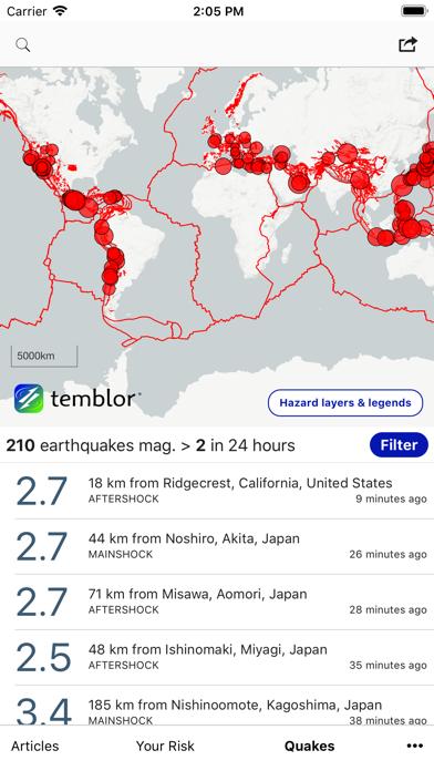 Temblorのおすすめ画像3