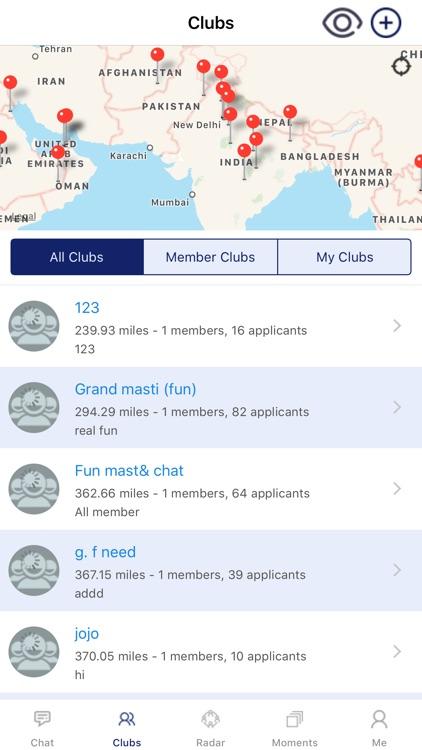 ChatApp - Meet New People screenshot-4