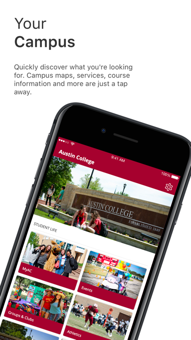 Austin College Mobile App screenshot 2
