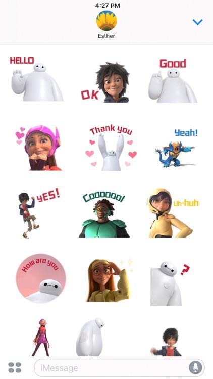 Disney Stickers: Big Hero 6 screenshot-3