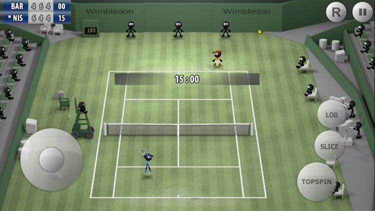 Stickman Tennis - Career screenshot-0