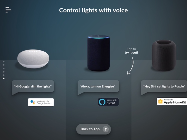 Philips Hue in-store app screenshot-8