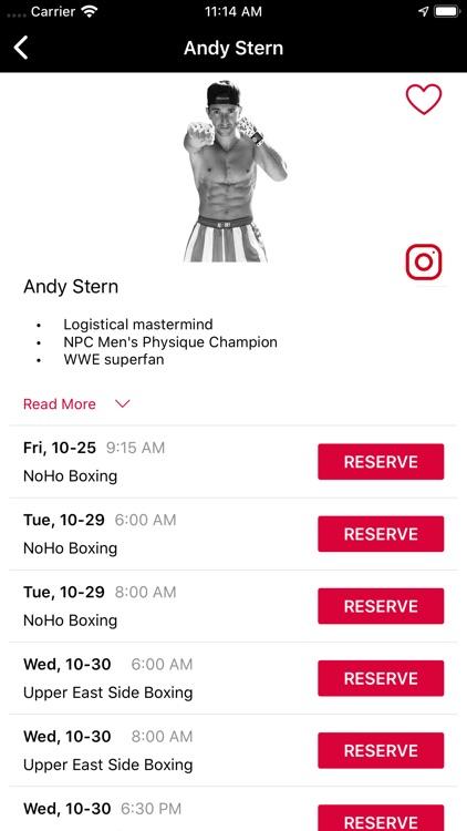 Rumble - Group Fitness screenshot-4