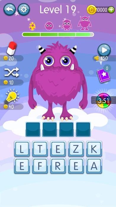 Word Monsters: Word Game screenshot 2