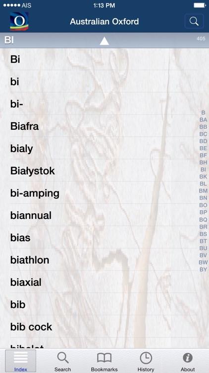 Australian Oxford Dictionary screenshot-4
