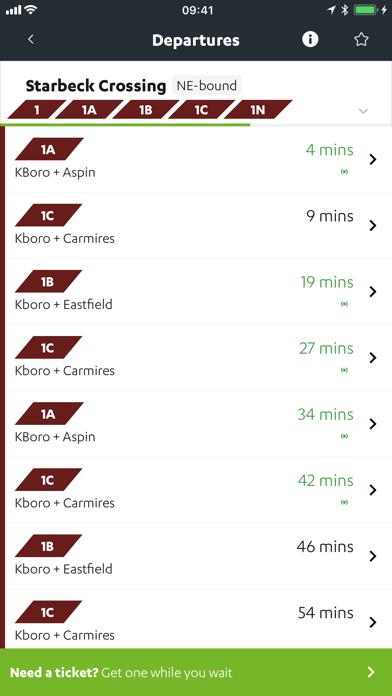 Transdev Go screenshot two