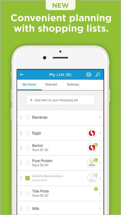 Coupons.com: Cash Back Savings screenshot-5