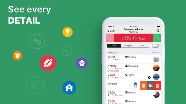Cost Track: your Money Tracker screenshot-3
