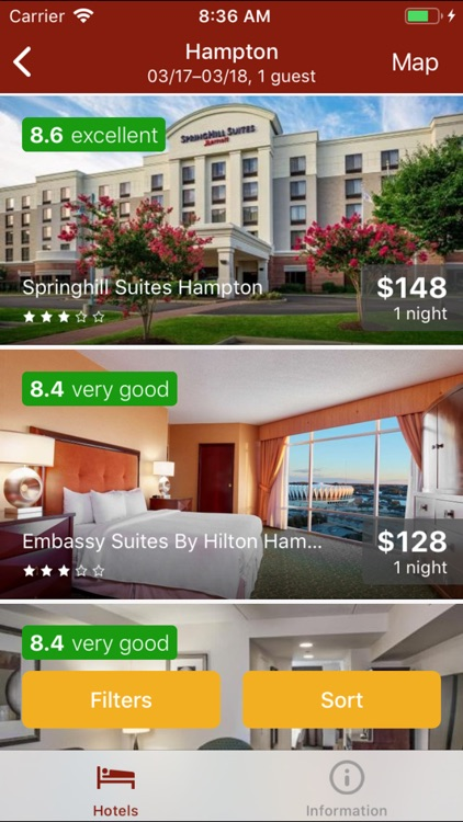 Cheap Hotels Search Online screenshot-3