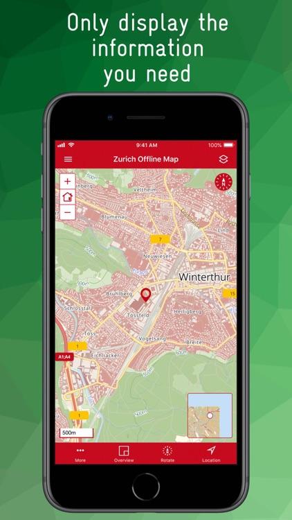 Zurich Offline Map screenshot-3