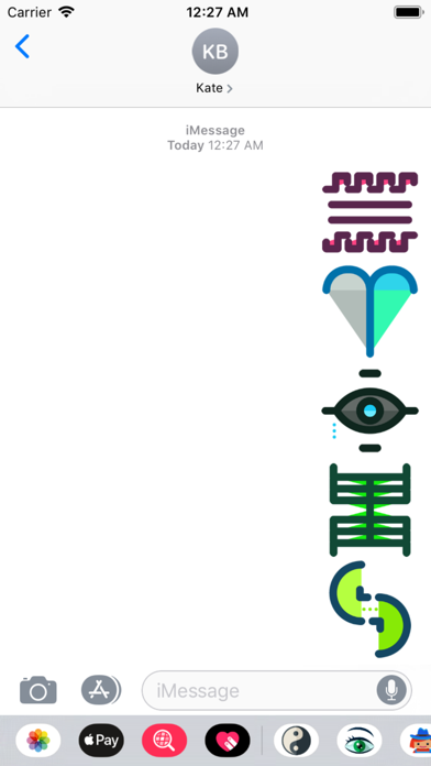 Symbols Stickers Screenshot 2