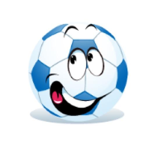 可爱足球贴图