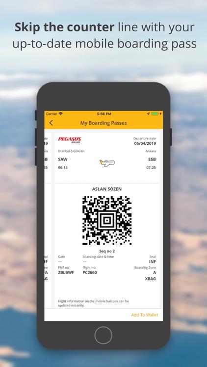 Cheap Flight Tickets | Pegasus screenshot-4