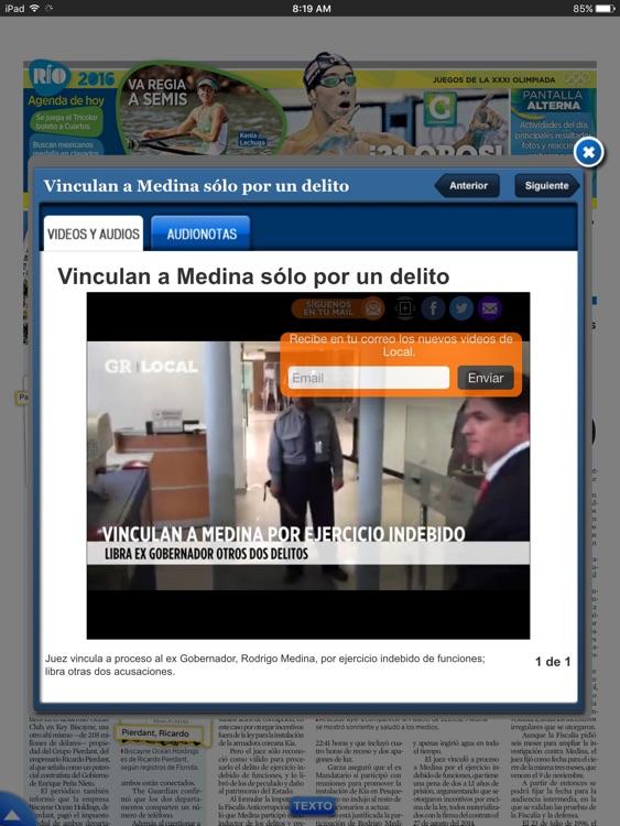 EL NORTE (en línea +impreso) screenshot-4