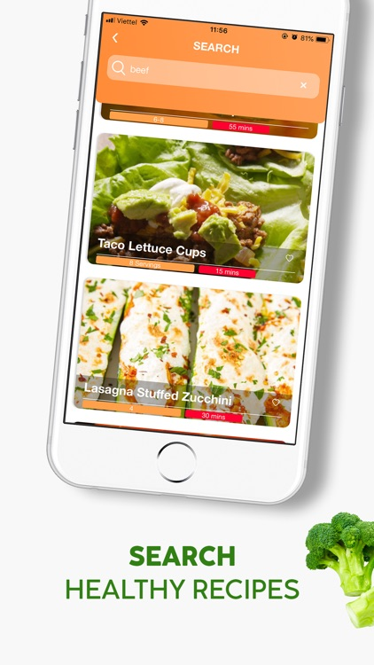 Healthy Food Meal Prep Planner screenshot-3