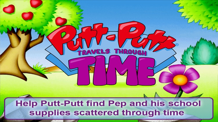 Putt-Putt Travels Through Time screenshot-0