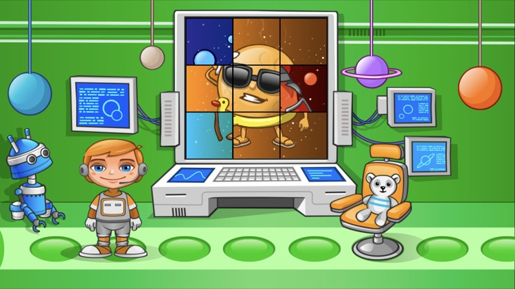 Jack in Space. Preschool learn screenshot-3