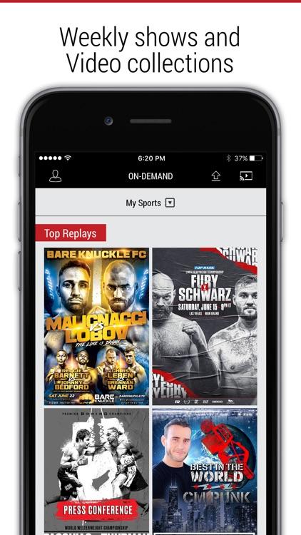FITE - Boxing, Wrestling, MMA screenshot-7