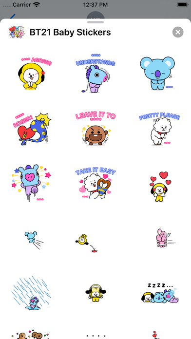 BT21 Baby Stickers screenshot 3