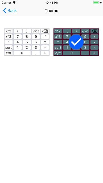 Calcul Keyboard screenshot-4