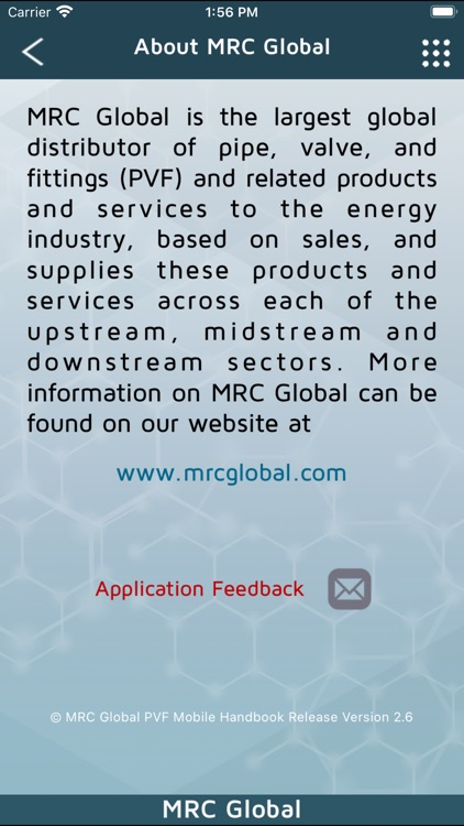 MRC Global PVF Mobile Handbook screenshot-4