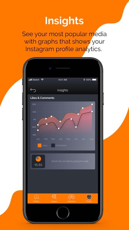Analytics - for Instagram screenshot-4