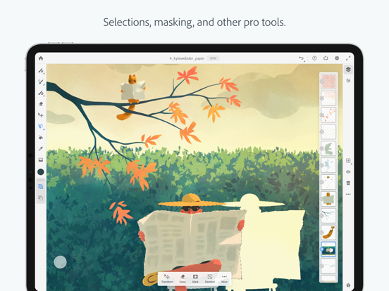 Adobe Fresco: Draw & Paint screenshot 14