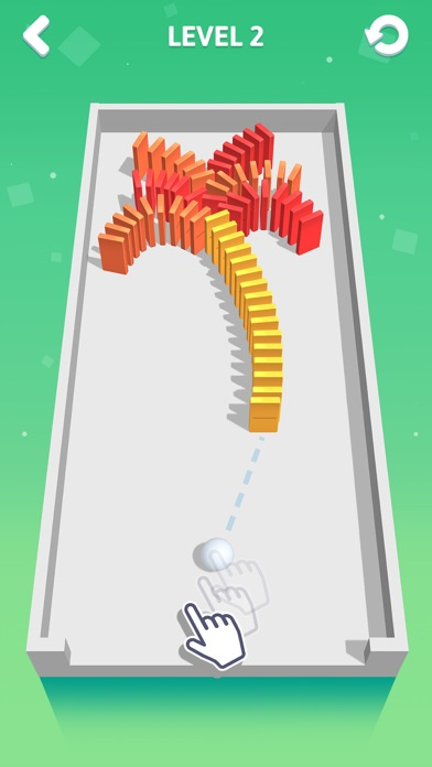 Screenshot for Rolling Domino in United States App Store