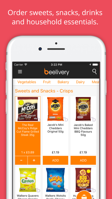 Beelivery: Grocery Delivery screenshot three