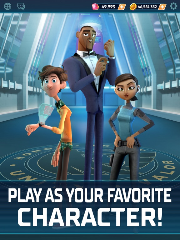 Spies in Disguise screenshot 5