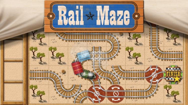 Rail Maze : Train Puzzler screenshot-0