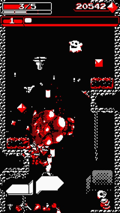Downwell Screenshot on iOS