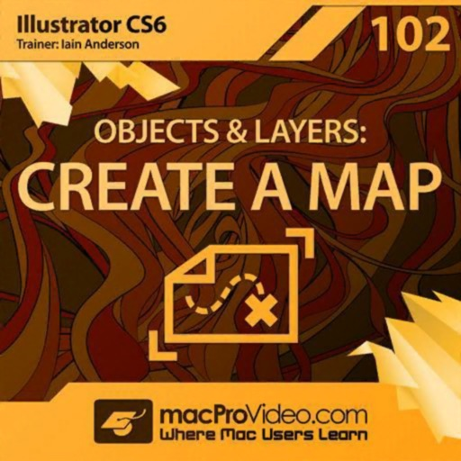 Map Course For Illustrator CS6