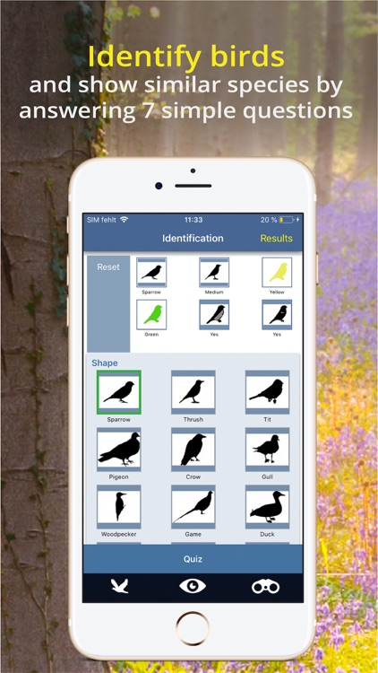 Bird Id - British Isles birds screenshot-3