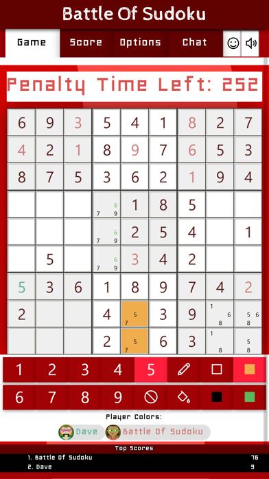 Battle Of Sudoku screenshot 3