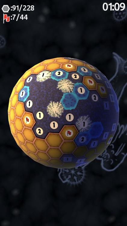 Planet Minesweeper 3D