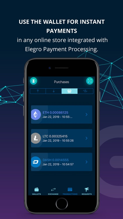 Elegro Сrypto/Fiat Wallet screenshot-2